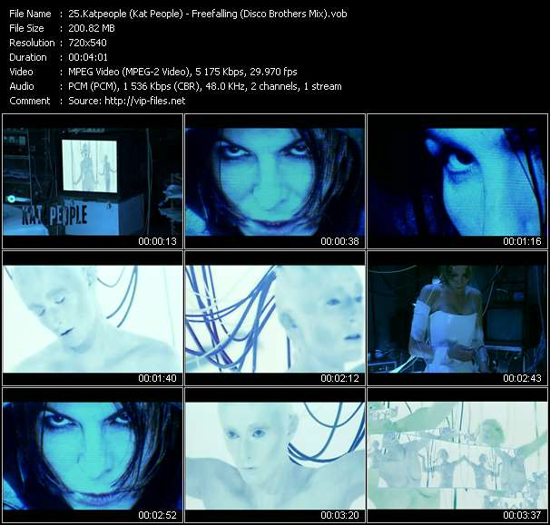 Katpeople (Kat People) - Freefalling (Disco Brothers Mix)