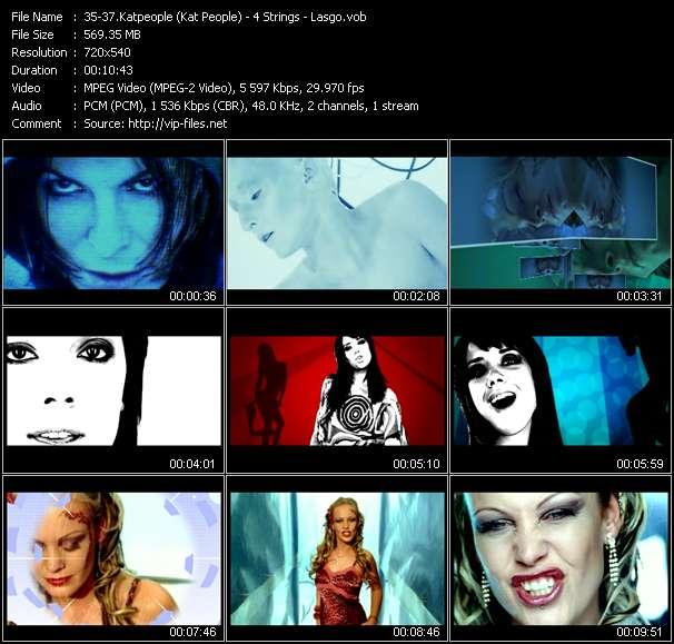 Katpeople (Kat People) - 4 Strings - Lasgo - Freefalling (Disco Brothers Mix) - Turn It Around (Sandler Vocal Remix Edit) - Surrender (Cor Fijneman Remix)