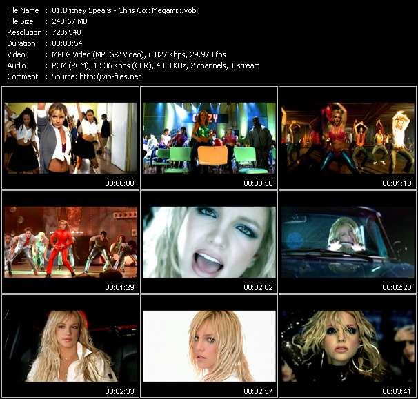 Britney Spears - Chris Cox Megamix