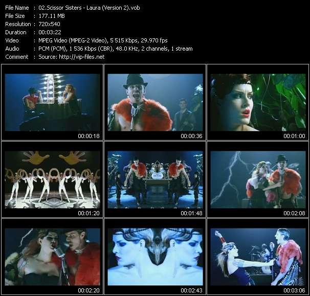 Scissor Sisters - Laura (Version 2)