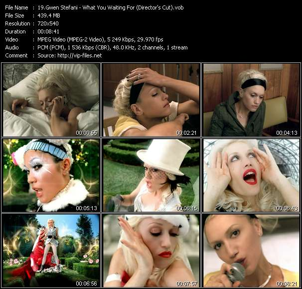Gwen Stefani - What You Waiting For? (Director's Cut)