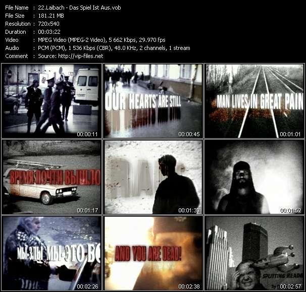 Laibach - Das Spiel Ist Aus