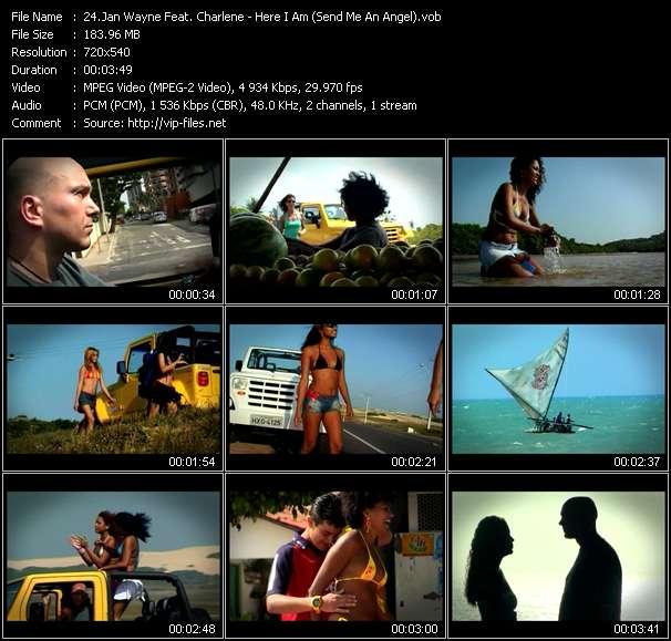 Jan Wayne Feat. Charlene - Here I Am (Send Me An Angel)