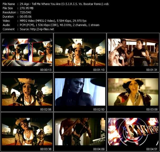 Ago - Tell Me Where You Are (O.S.I.R.I.S. Vs. Boostar Remix)