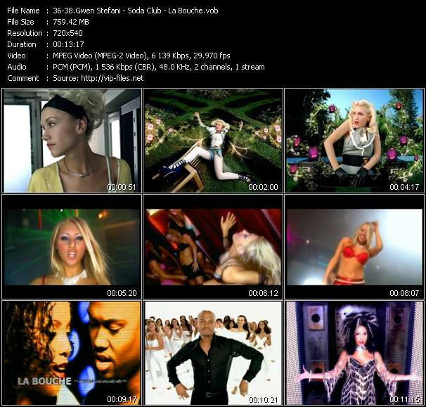 Gwen Stefani - Soda Club - La Bouche - What You Waiting For? - Someday (M.A.S.H Remix) - In Your Life (Dezrok Club Edit)