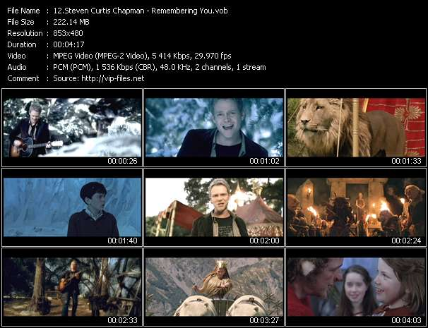 "Steven Curtis Chapman - Remembering You (From ""The Chronicles Of Narnia"")"
