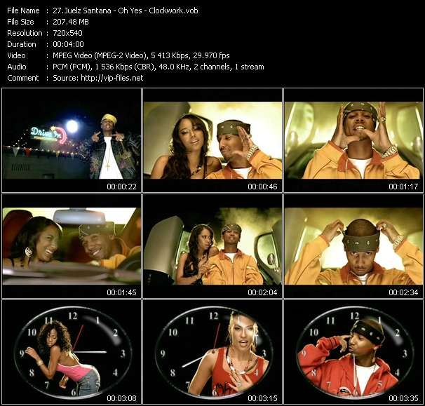 Juelz Santana - Oh Yes - Clockwork