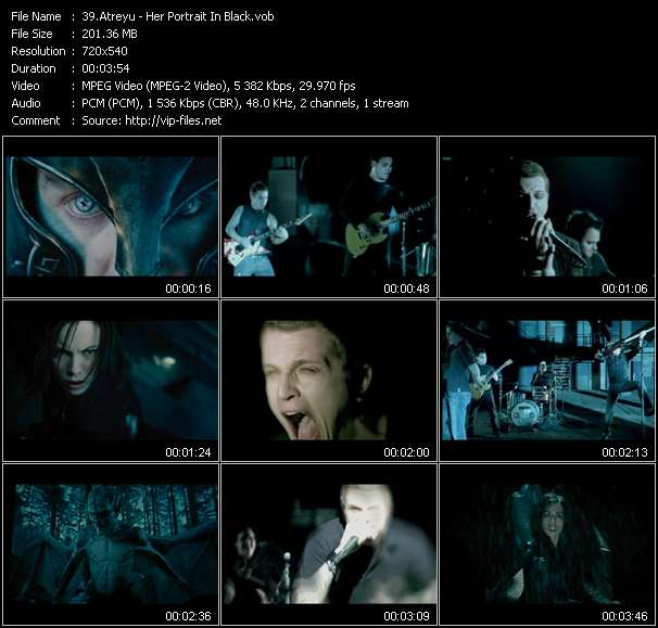 "Atreyu - Her Portrait In Black (From ""Underworld: Evolution"")"