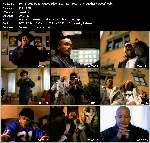 Run DMC Feat. Jagged Edge - Let's Stay Together (Together Forever)