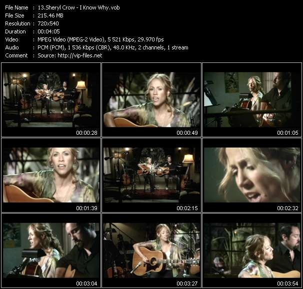 Sheryl Crow - I Know Why