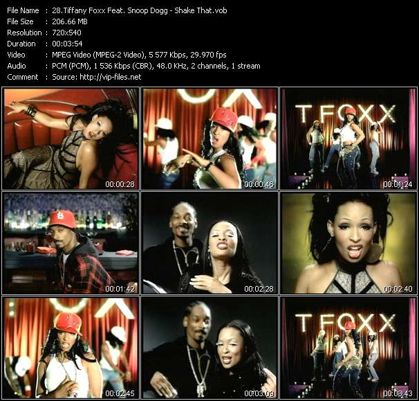 Tiffany Foxx Feat. Snoop Dogg - Shake That