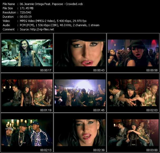 Jeannie Ortega Feat. Papoose - Crowded