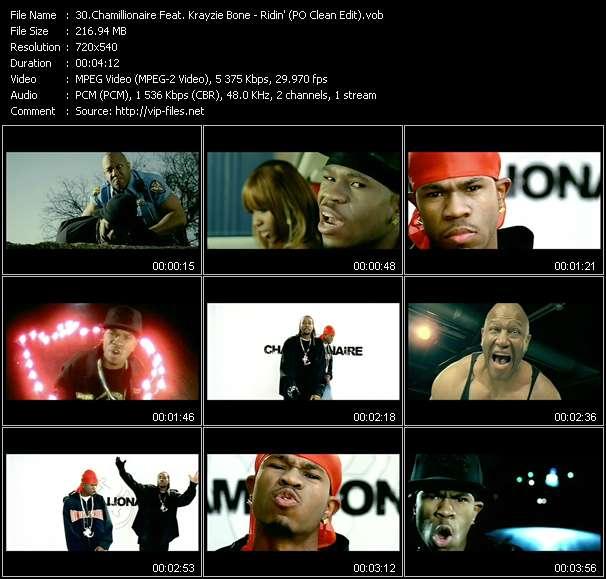 Chamillionaire Feat. Krayzie Bone - Ridin' (PO Clean Edit)