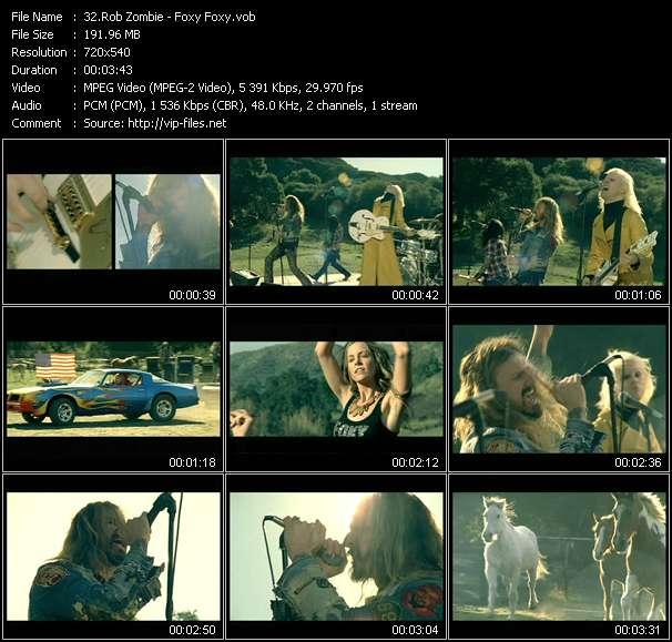 Rob Zombie - Foxy Foxy
