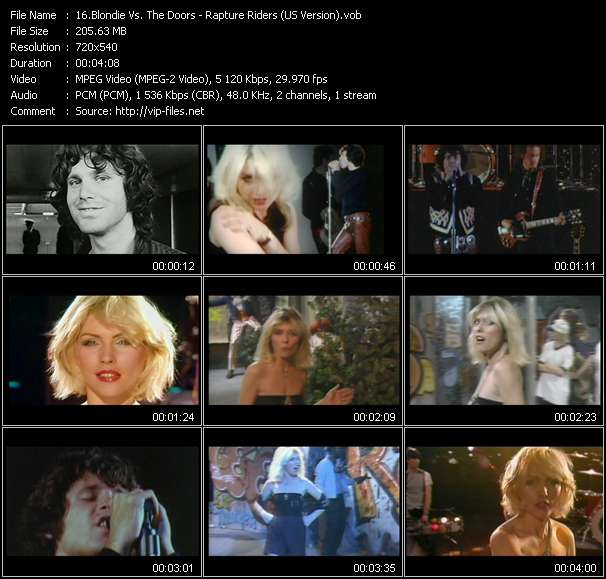 Blondie Vs. The Doors - Rapture Riders (US Version)