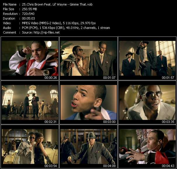 Chris Brown Feat. Lil' Wayne - Gimme That