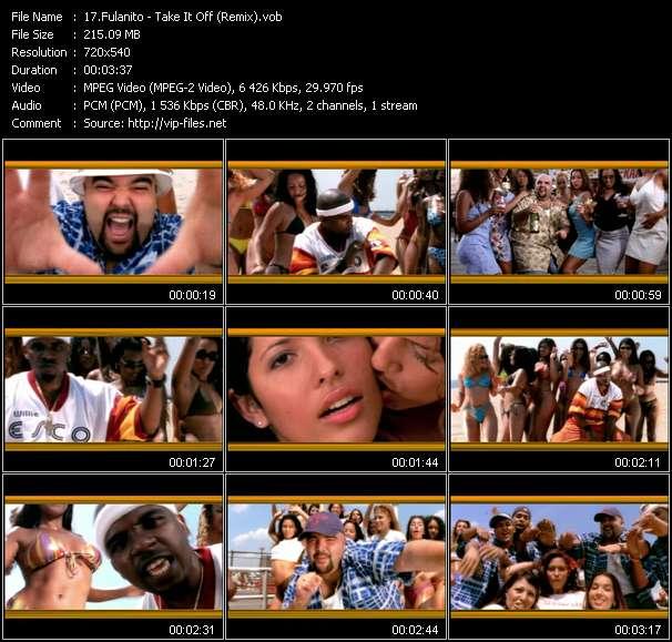 Fulanito - Take It Off (Remix)
