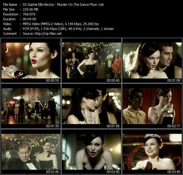 Sophie Ellis-Bextor - Murder On The Dance Floor