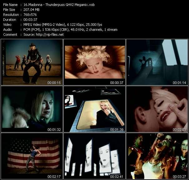 Madonna - Thunderpuss GHV2 Megamix