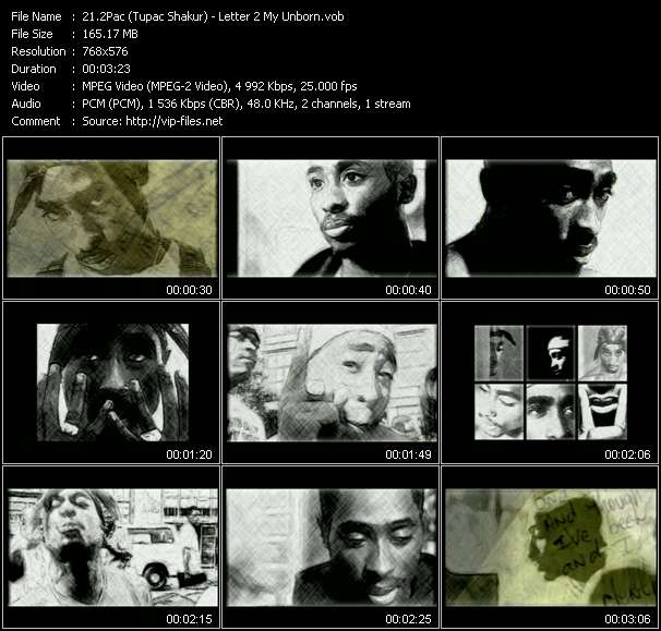 2Pac (Tupac Shakur) - Letter 2 My Unborn