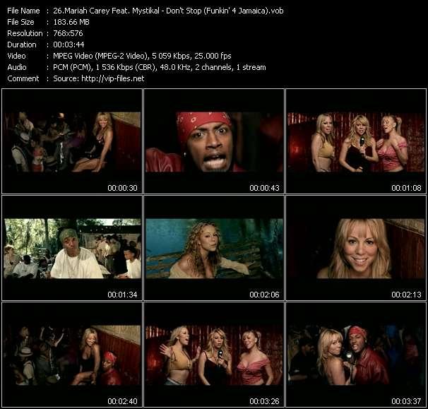 Mariah Carey Feat. Mystikal - Don't Stop (Funkin' 4 Jamaica)