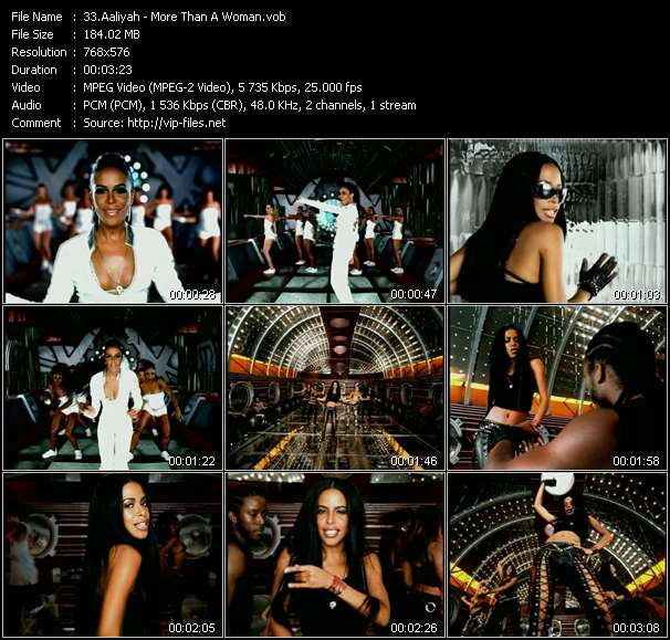Aaliyah - More Than A Woman