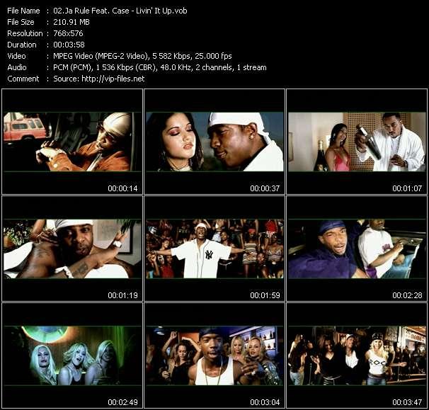 Ja Rule Feat. Case - Livin' It Up