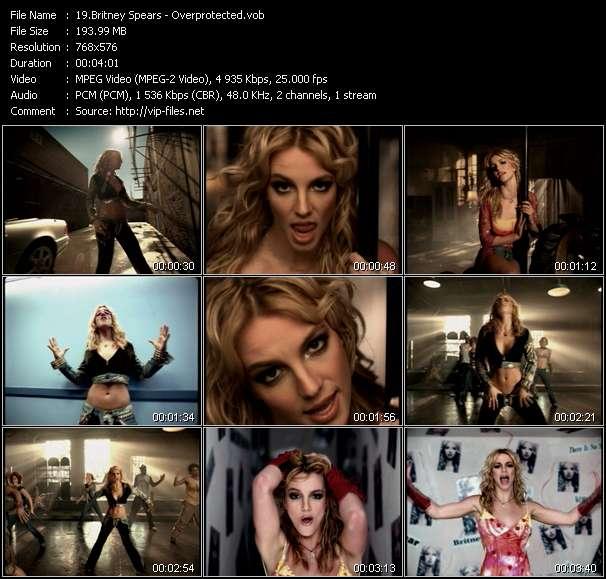Britney Spears - Overprotected