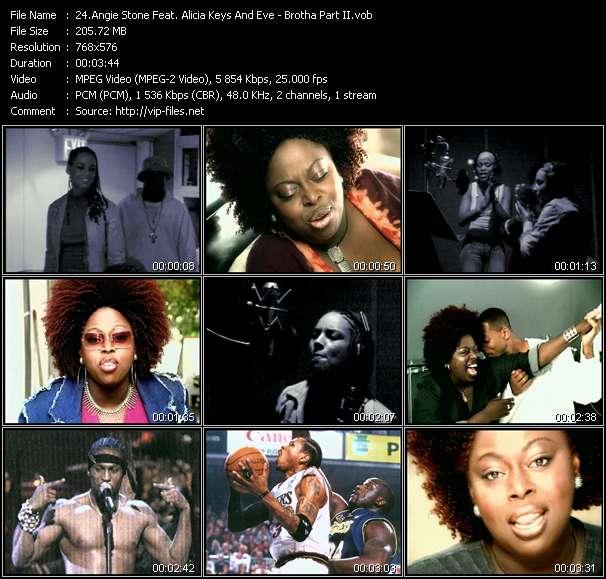 Angie Stone Feat. Alicia Keys And Eve - Brotha Part II