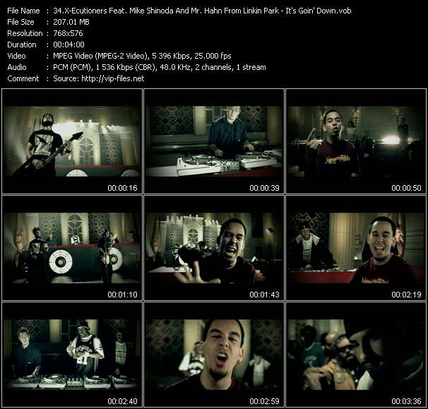 X-Ecutioners Feat. Mike Shinoda And Mr. Hahn From Linkin Park - It's Goin' Down