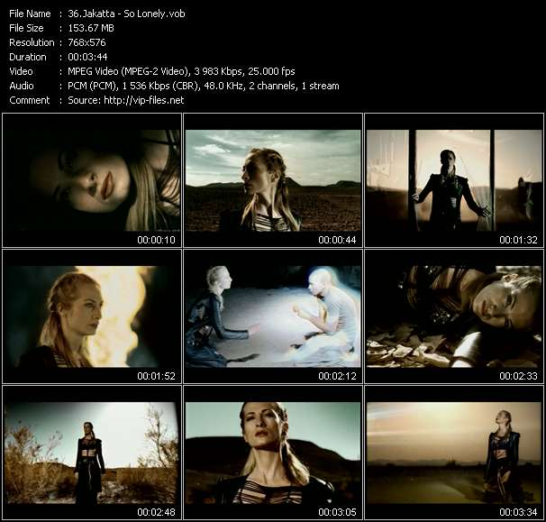 Jakatta - So Lonely