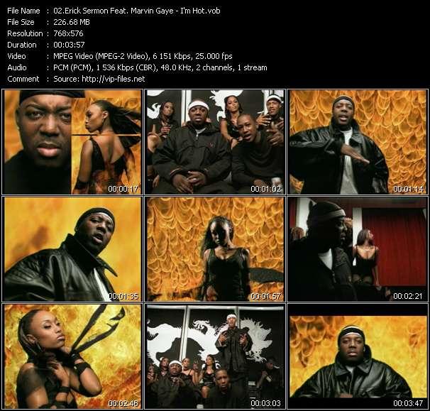 Erick Sermon Feat. Marvin Gaye - I'm Hot