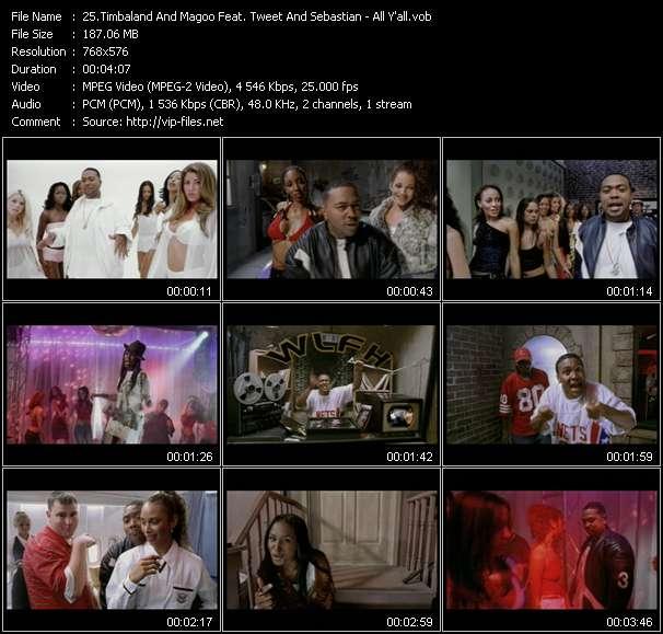 Timbaland And Magoo Feat. Tweet And Sebastian (Garland Mosley) - All Y'all