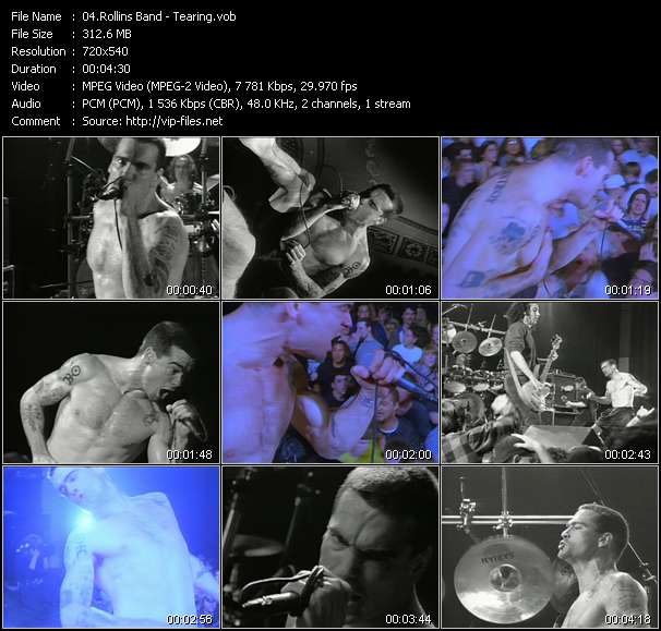 Rollins Band - Tearing