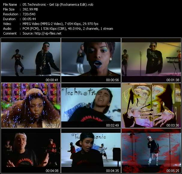Technotronic - Get Up (Rockamerica Edit)