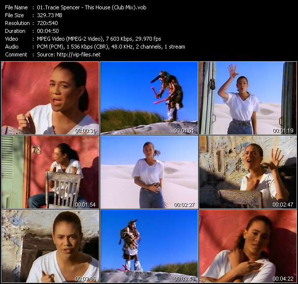 Tracie Spencer - This House (Club Mix)