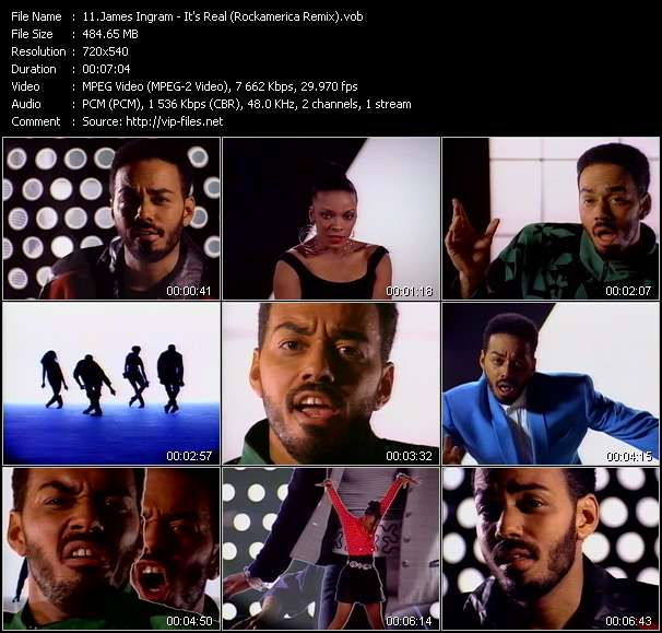 James Ingram - It's Real (Rockamerica Remix)