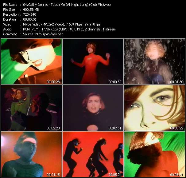 Cathy Dennis - Touch Me (All Night Long) (Club Mix)