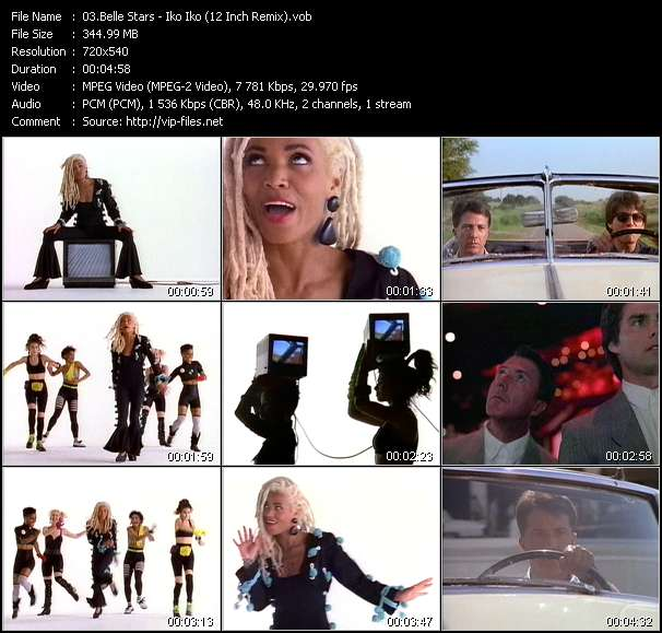 Belle Stars - Iko Iko (12 Inch Remix)