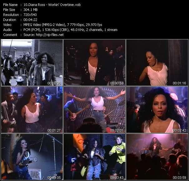 Diana Ross - Workin' Overtime