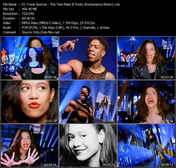 Tracie Spencer - This Time Make It Funky (Rockamerica Remix)