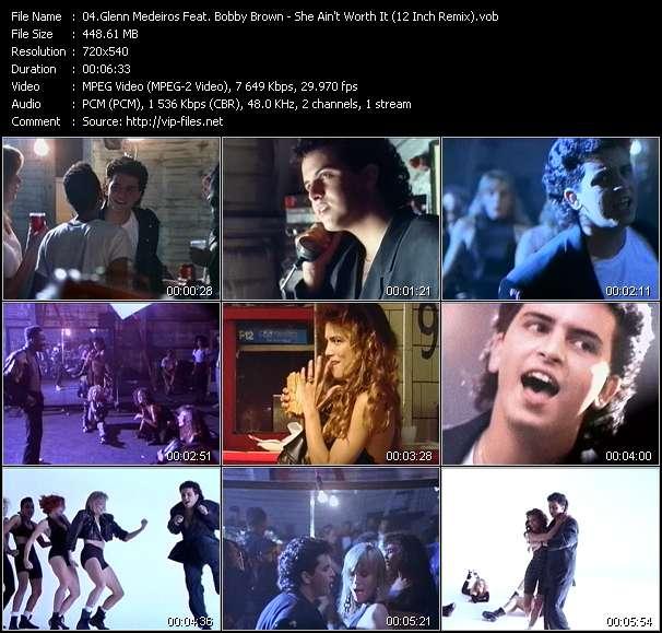 Glenn Medeiros Feat. Bobby Brown - She Ain't Worth It (12 Inch Remix)