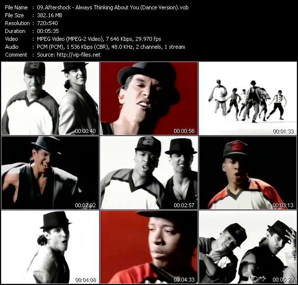 Aftershock - Always Thinking About You (Dance Version)