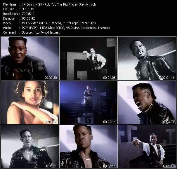 Johnny Gill - Rub You The Right Way (Remix)