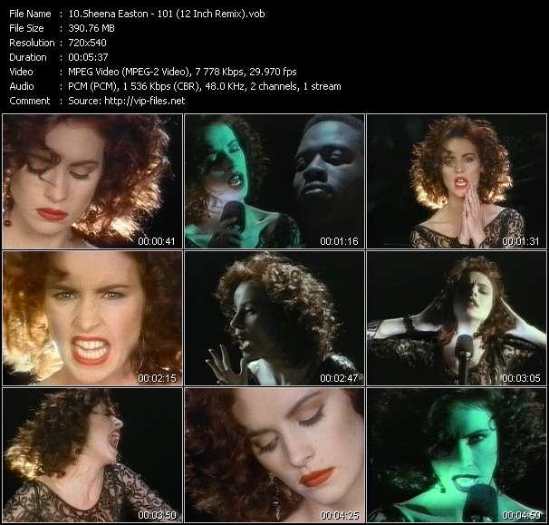 Sheena Easton - 101 (12 Inch Remix)