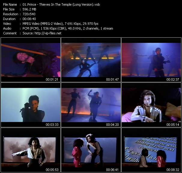 Prince - Thieves In The Temple (Long Version)