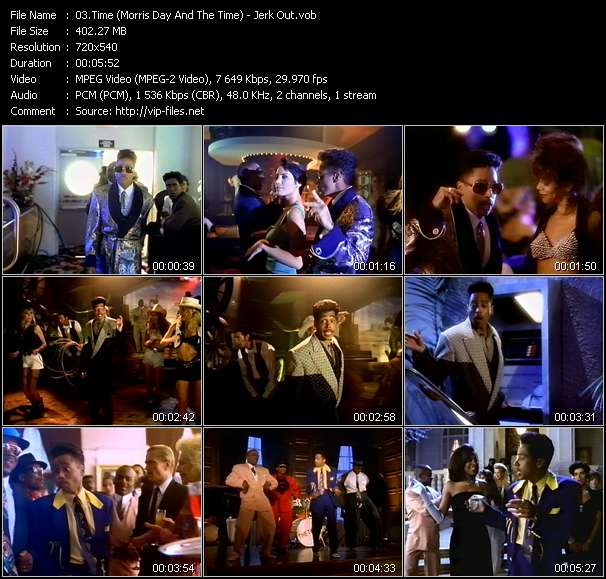 Time (Morris Day And The Time) - Jerk Out