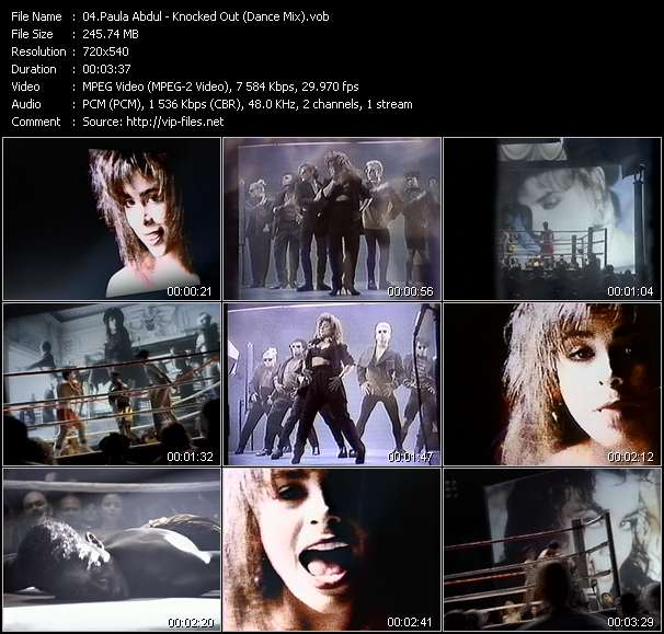Paula Abdul - Knocked Out (Dance Mix)