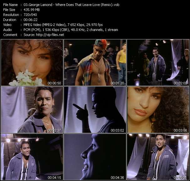 George Lamond - Where Does That Leave Love (Remix)