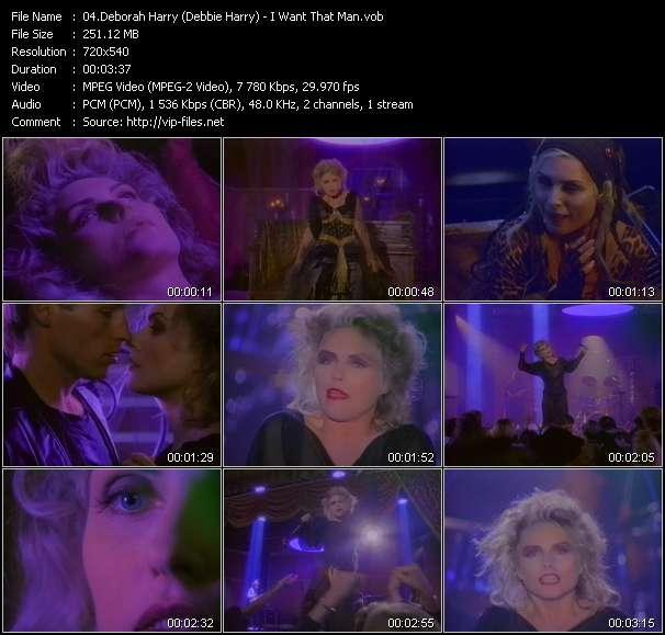 Deborah Harry (Debbie Harry) - I Want That Man